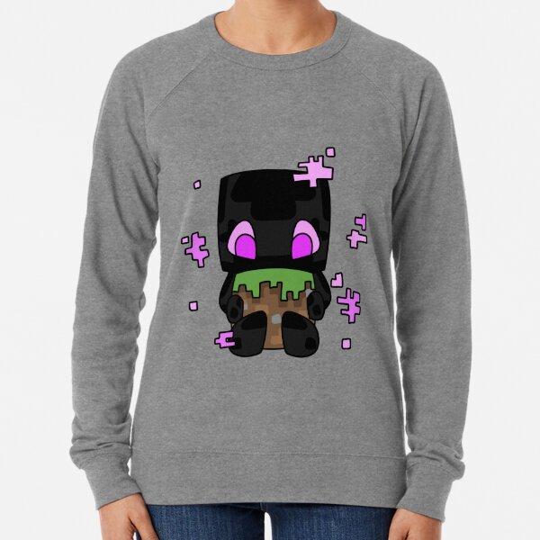 Minecraft Enderman Leichter Pullover
