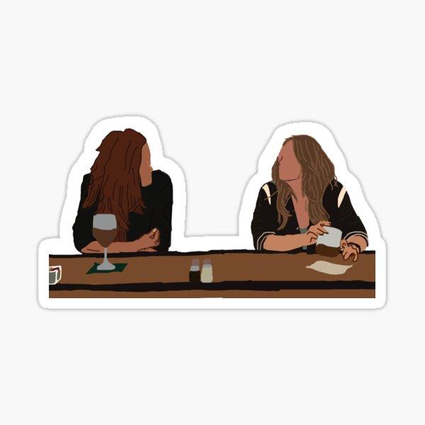 Carina and maya Sticker