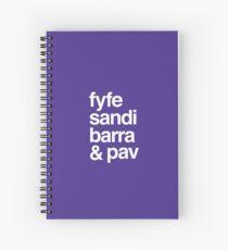 Fremantle Footy Pals Spiral Notebook