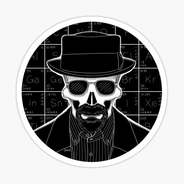 Heisenberg (Stack's Skull Sunday) Sticker