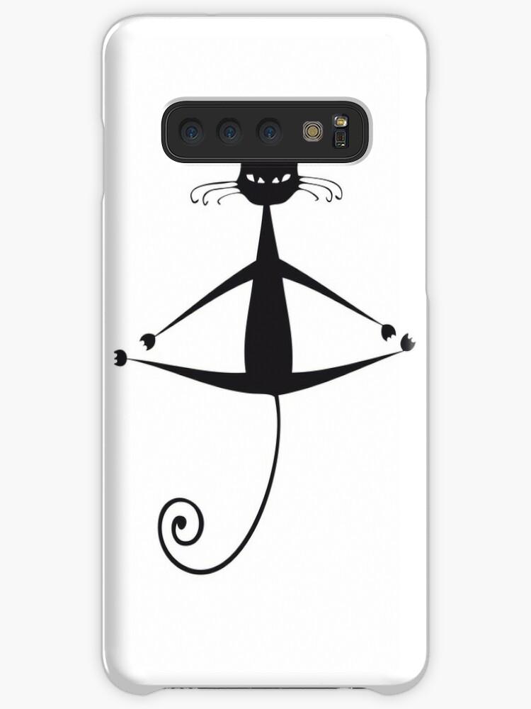 'Cat no 9' Case/Skin for Samsung Galaxy by MyLAMMY