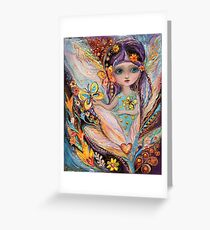 My little fairy Pearlie Greeting Card