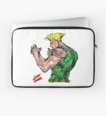 Streetfighter 2 Guile Laptop Sleeve