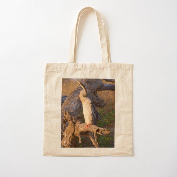NT ~ MARINE BIRD ~ Australasian Darter by David Irwin 15012021 Cotton Tote Bag