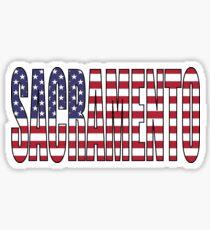 Sacramento. Sticker