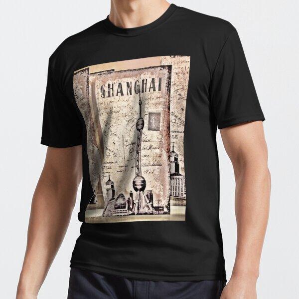Shanghai - The Oriental Paris Active T-Shirt