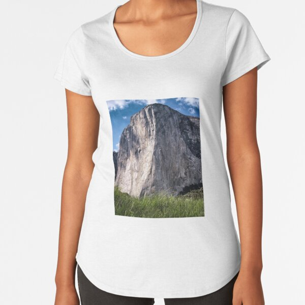 El Capitan Yosemite National Park Premium Scoop T-Shirt