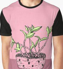 Wonky Flora 2 Graphic T-Shirt