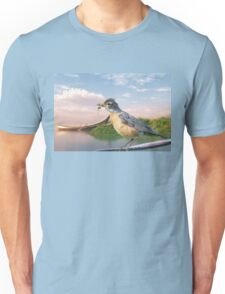 American Robin and a Mouthful T-Shirt