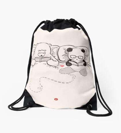 Goodreads Drawstring Bag