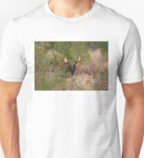 Bull Moose in Algonquin Park, Canada Unisex T-Shirt