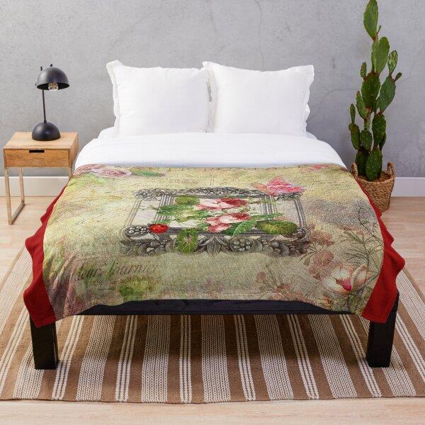 Flora Throw Blanket