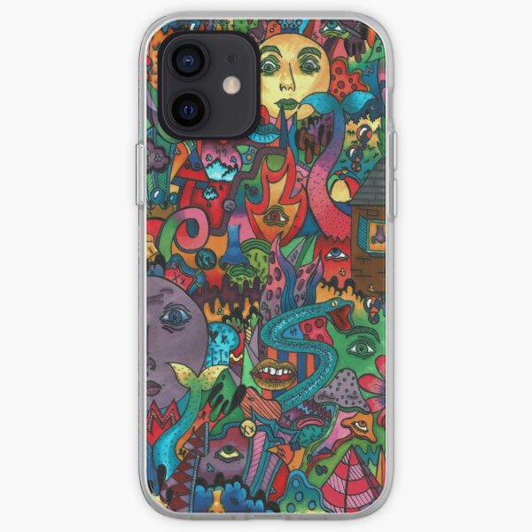 Everything Doodle iPhone Soft Case