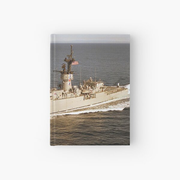 USS DOWNES (FF-1070) SHIP'S STORE Hardcover Journal