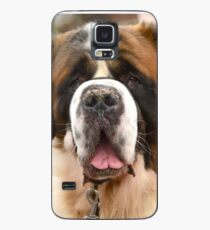 St Bernard dog - ready for a hug! Case/Skin for Samsung Galaxy