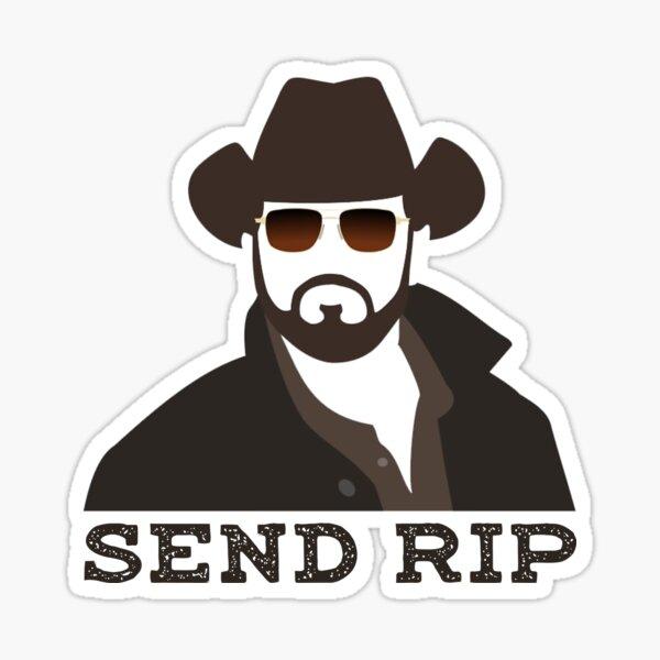 Yellowstone-SEND RIP Sticker