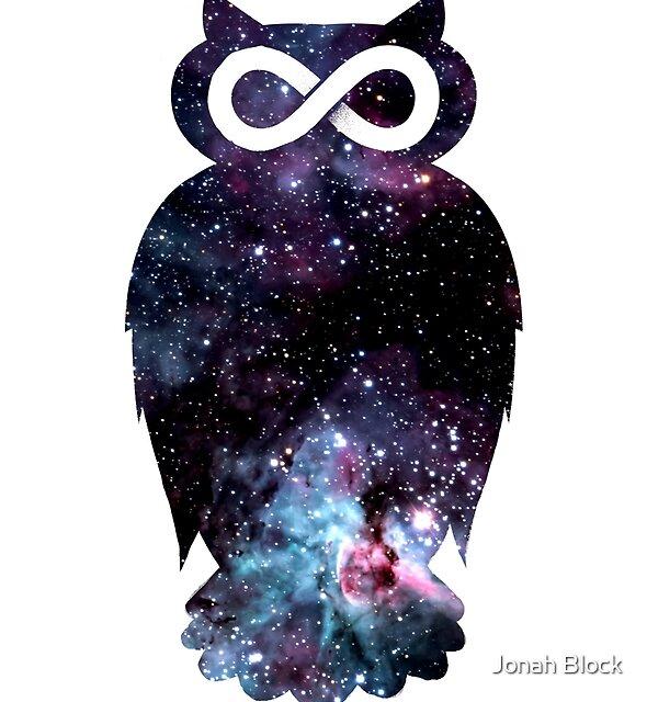 Super Cosmic Owlfinity by Jonah Block