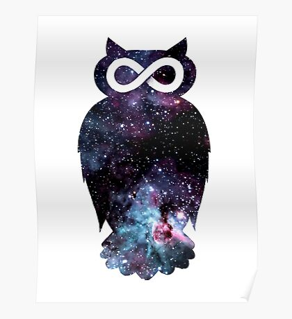 Super Cosmic Owlfinity Poster