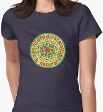Neurodiversity Mandala  Women's Fitted T-Shirt