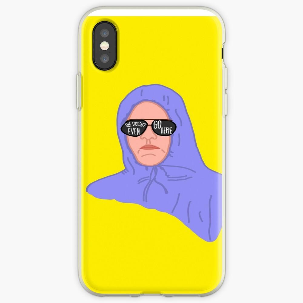 Mittlere Mädchen Damian iPhone-Hüllen & Cover