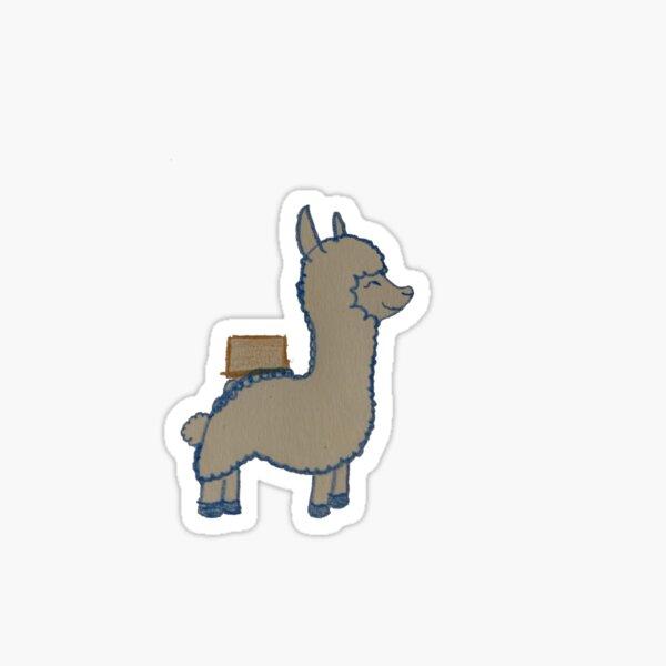 My First Llama Sticker
