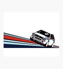 1992 Rally Race Car Photographic Print