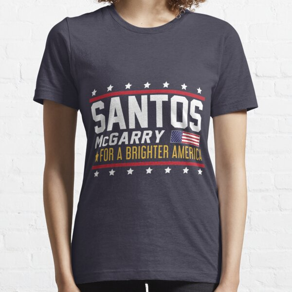 Santos and McGarry Campaign Poster from West Wing Essential T-Shirt