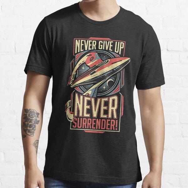 Retro Vintage Never Surrender retro vintage Essential T-Shirt