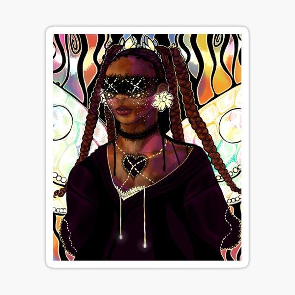 Dreamcore - Afropunk Goth Fae Sticker