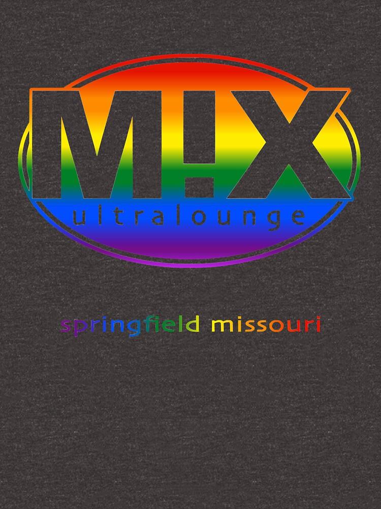 Mix Ultralounge Rainbow Logo on Black by jeremyrick