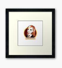 Ginny Weasley Framed Print