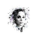 Ellen Page - splatters 1 by Pomerani