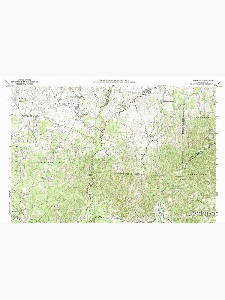 USGS TOPO Map Puerto Rico PR Bayaney 362049 1970 20000 de wetdryvac