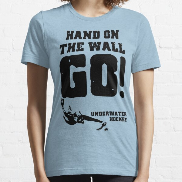 Underwater Hockey Hand On The Wall Essential T-Shirt