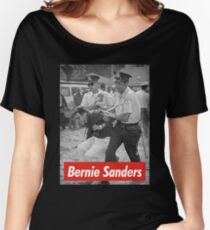 bernie sanders arrested 1963 Women's Relaxed Fit T-Shirt