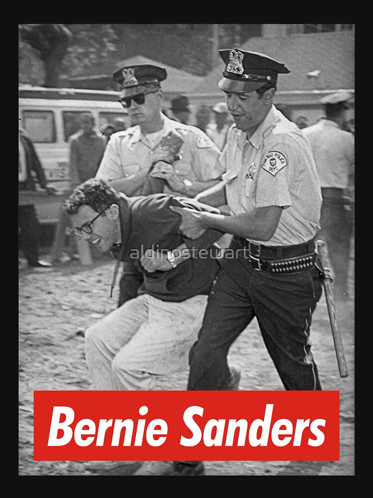 bernie sanders arrested 1963 | Unisex T-Shirt