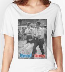bernie sanders arrest Women's Relaxed Fit T-Shirt