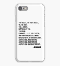 Another One - DJ Khaled iPhone Case/Skin