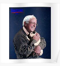 Cat and Bernie Poster