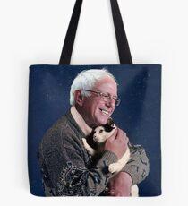 Cat and Bernie Tote Bag