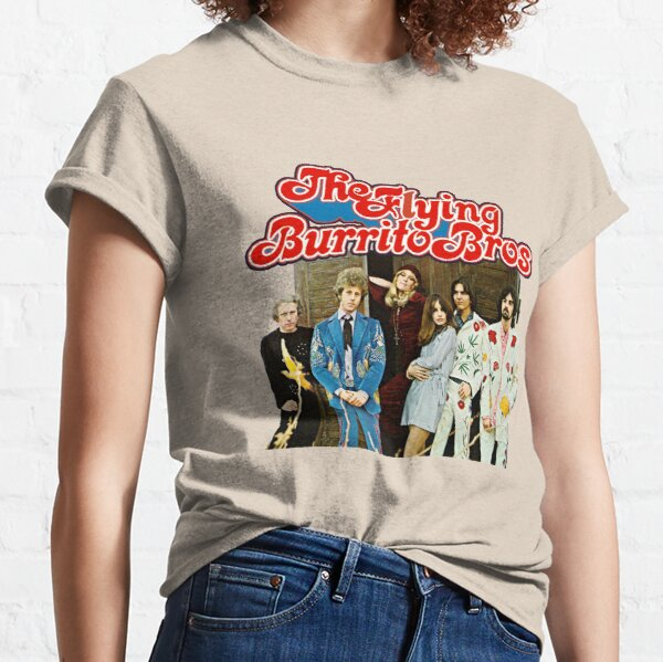 The Flying Burrito Bros featuring Gram Parsons Classic T-Shirt