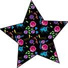 Colourful Microbe Star by lovebacteria