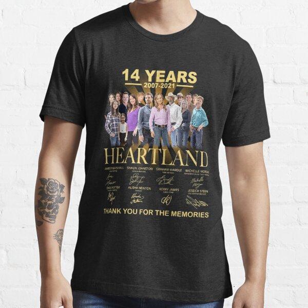 14 años 2007-2021 Heartland Camiseta esencial