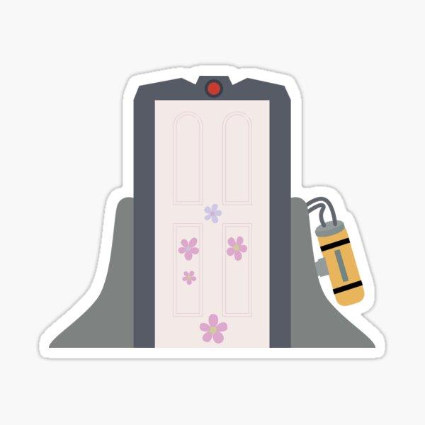 Boo's Door Sticker