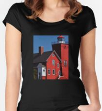 Two Harbors 4 Women's Fitted Scoop T-Shirt
