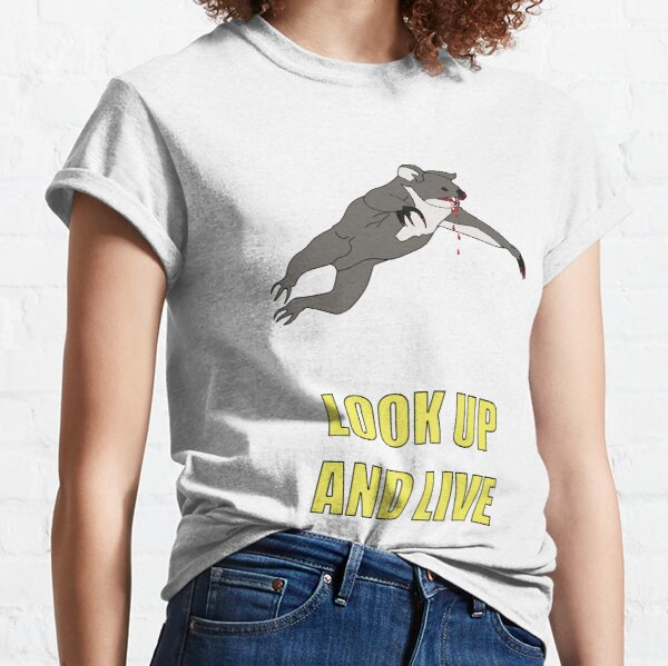 Look Up And Live Classic T-Shirt