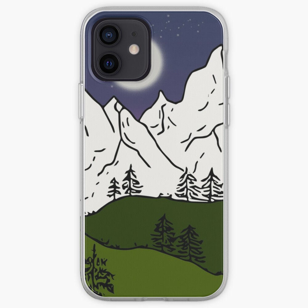 weisse berge iPhone-Hülle & Cover