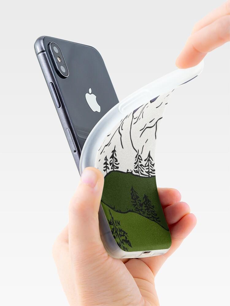 Alternative Ansicht von weisse berge iPhone-Hülle & Cover