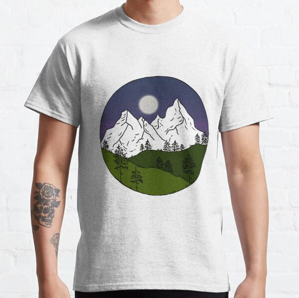 weisse berge Classic T-Shirt