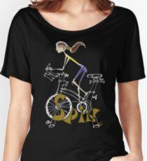 Spin, Spinning, Spin-Klasse, Zyklus - Brunette Loose Fit T-Shirt